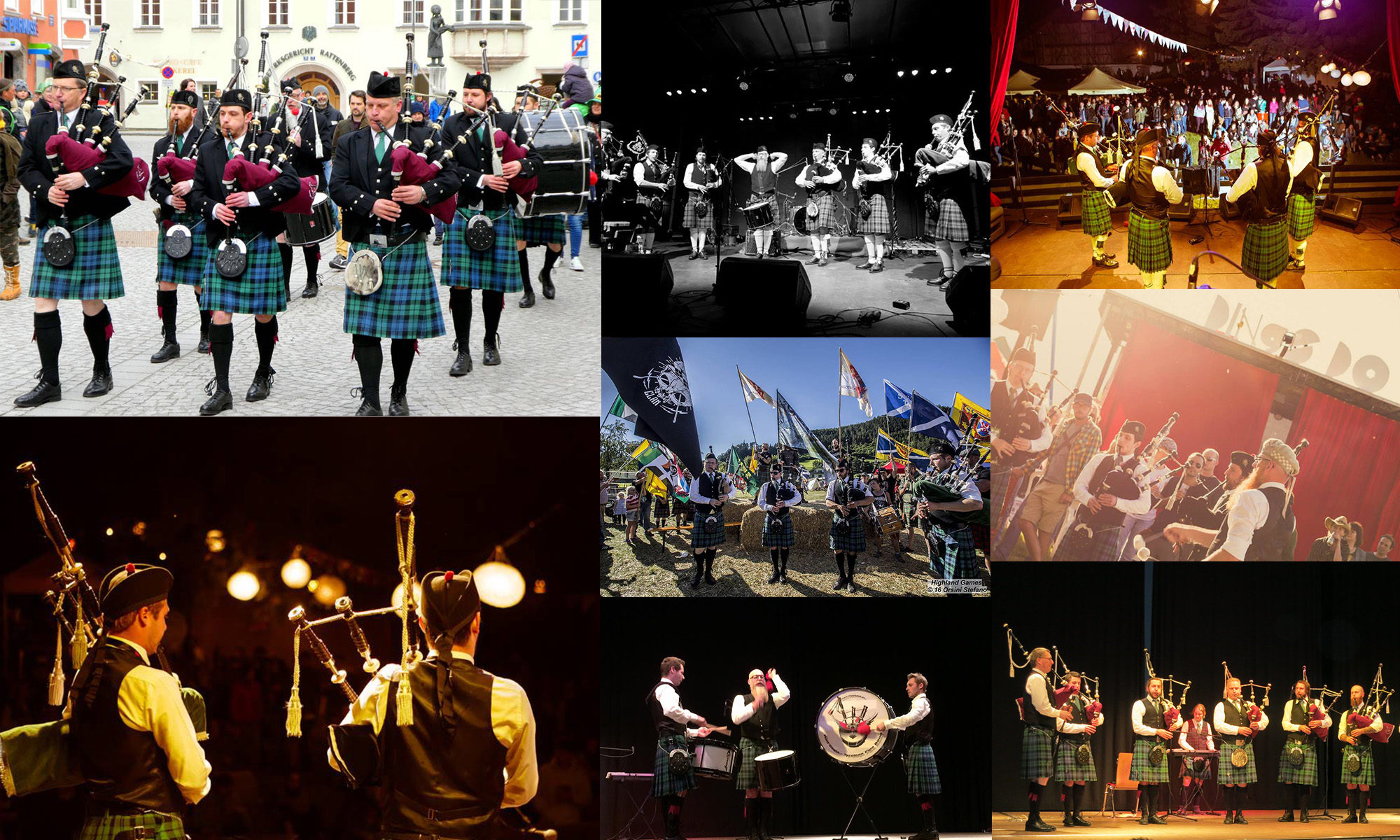 Red Eagle - Tyrolean Pipe Band